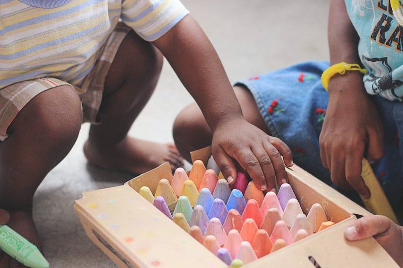 preschool small group activity interest and support
