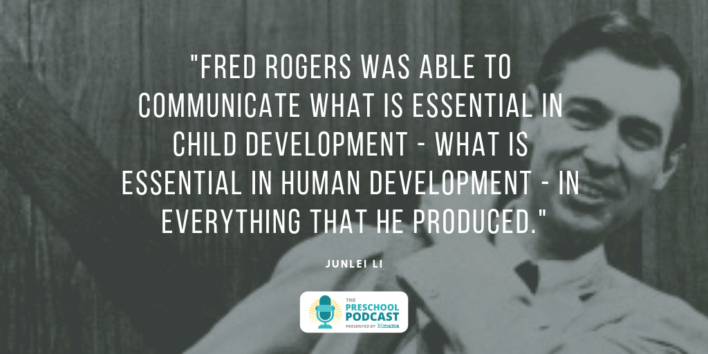 Fred Rogers was able to communicate what is essential in child development - what is essential in human development - in everything that he produced.