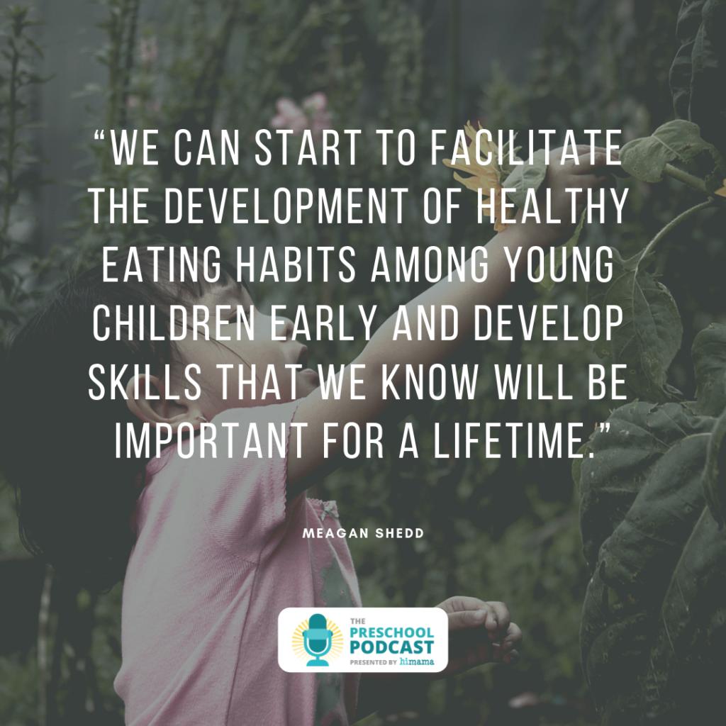 teaching healthy eating habits in preschool