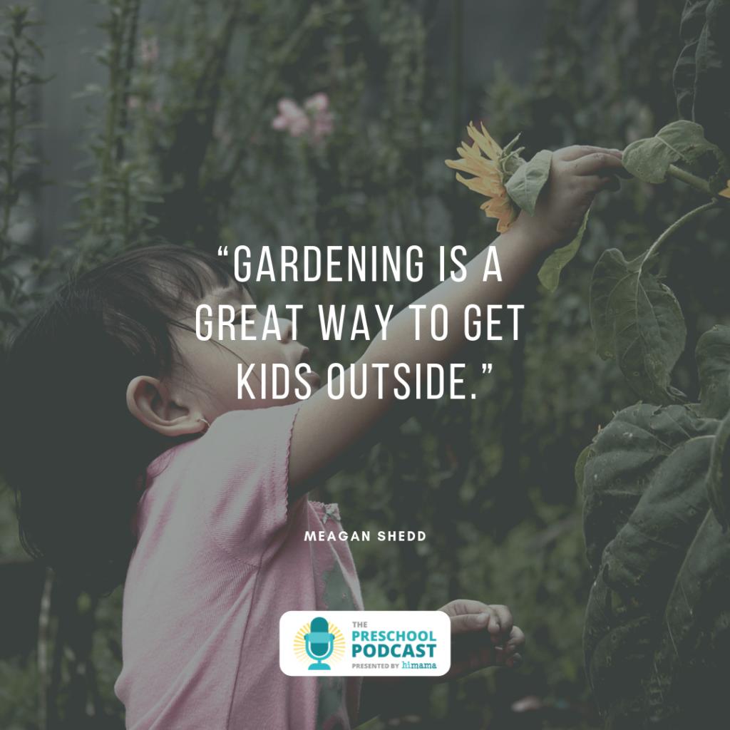 teaching gardening in early childhood education