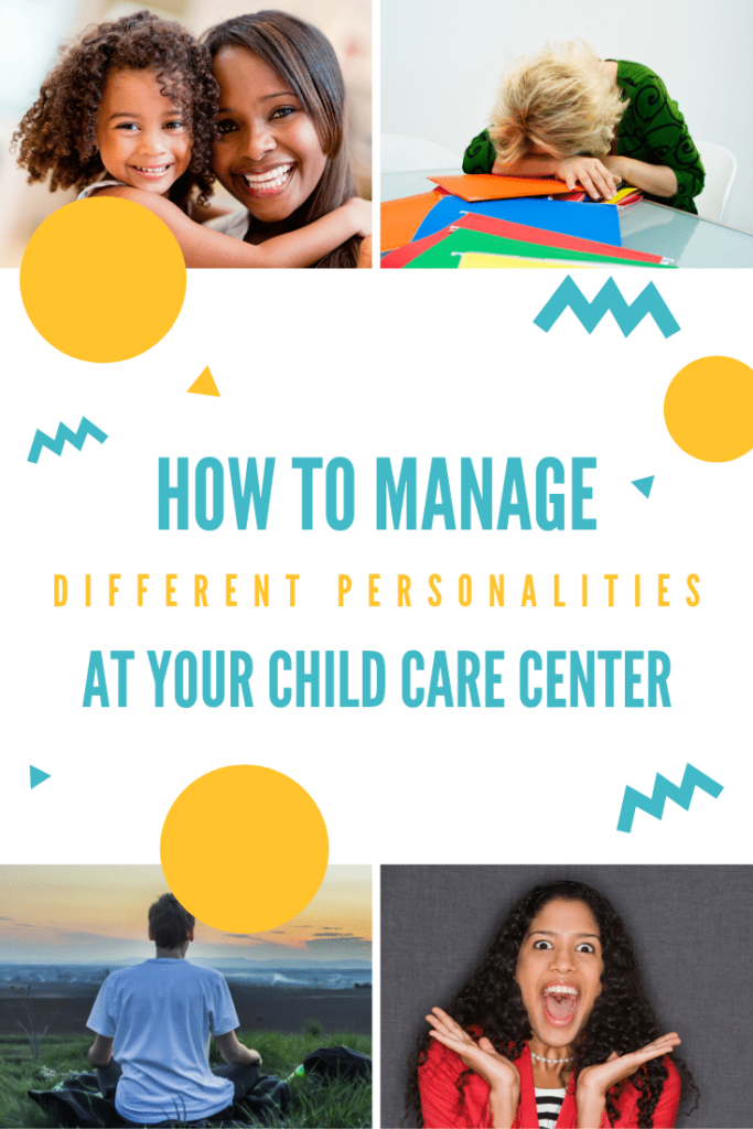 managing different personalities of early childhood educators