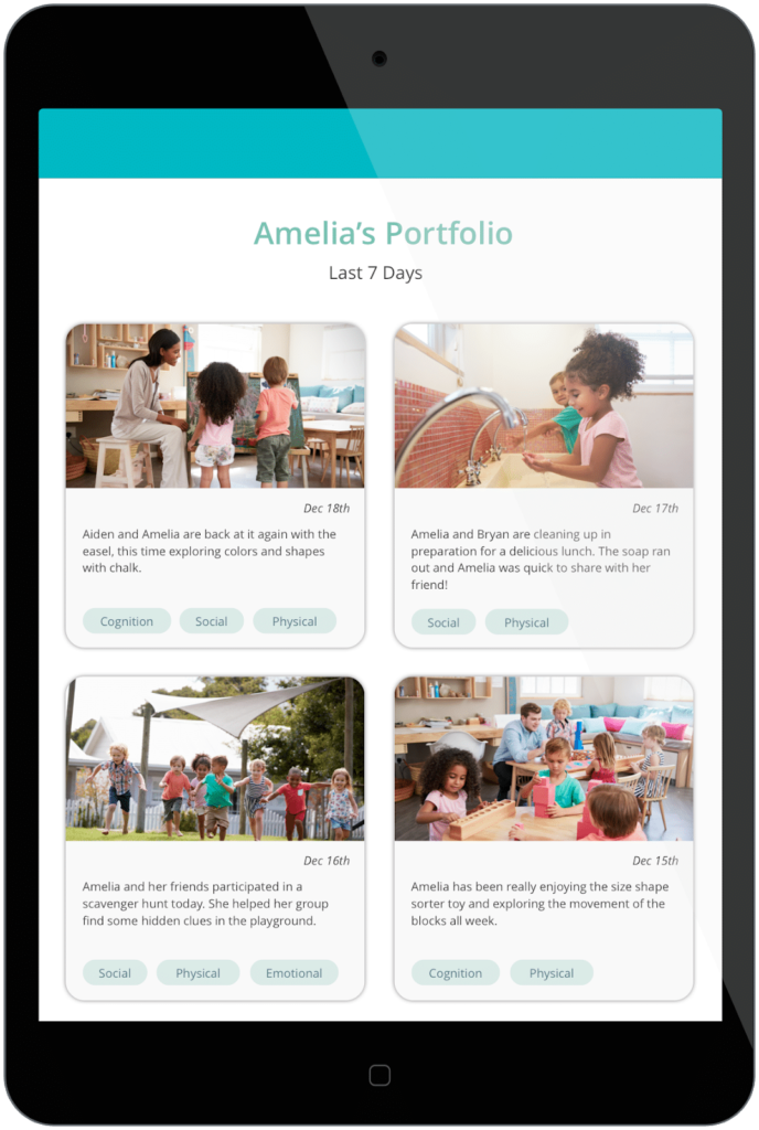 Personalized digital portfolios to replace paper binders