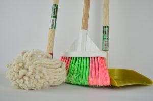 Preschool cleaning supplies