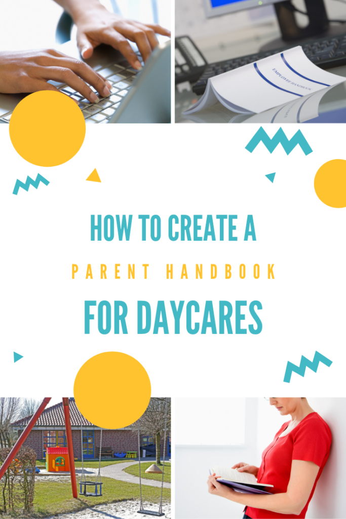 how to create a parent handbook for daycares