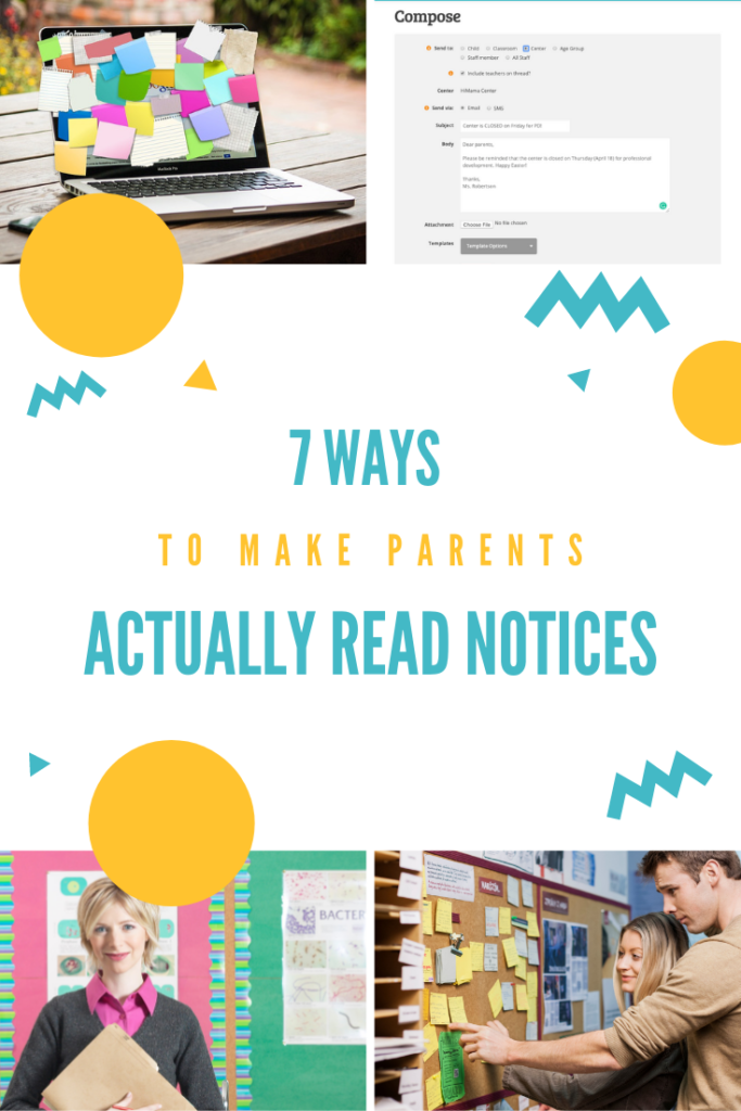 7 ways to make parents actually read notices