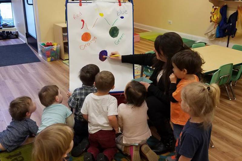 deciding to go digital at children's creative center