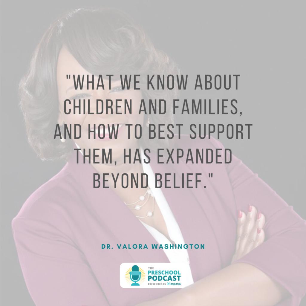 valora washington preschool podcast