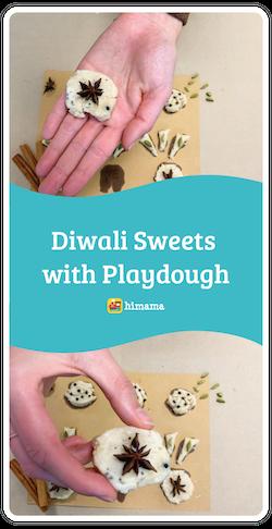 diwali sweets with playdough diwali activity