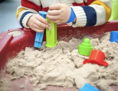 beach dramatic play sensory activity