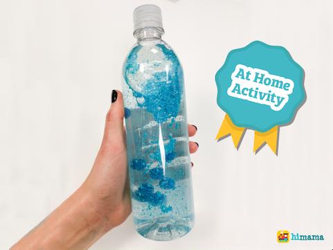 calm down sensory bottle activity