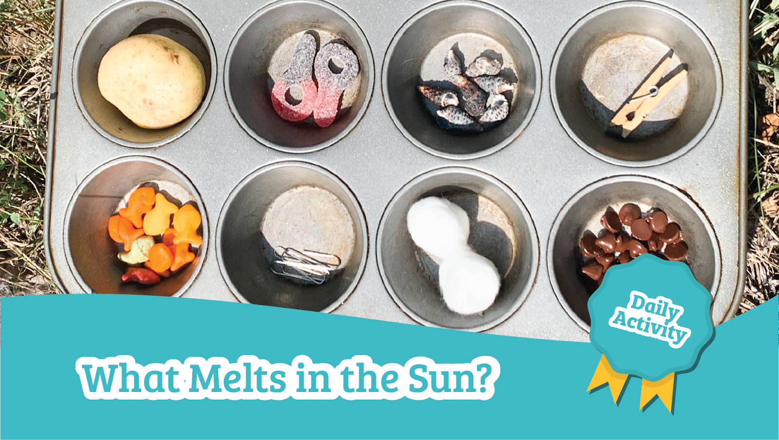 what melts in the sun preschool science activity